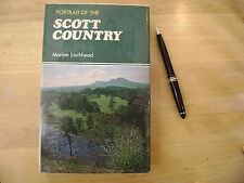 A Portrait of the Scott Country family history source 1973 ex lib great book!!!!