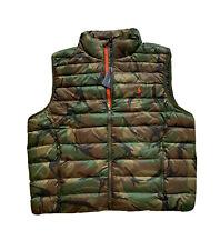Polo Ralph Lauren Men's Camouflage Vest Packable Down Jacket Size 2XL XXL