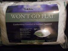Therapedic Won't Go Flat Down Alternative Pillow