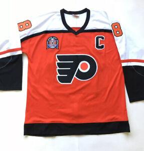 Mitchell & Ness Philadelphia Flyers Eric Lindros #88 Hockey Jersey Sz 52, 2XL