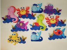 10 Baby Shower Sea Animals Foam Party Decorations it's a Boy Girl Favors Prizes