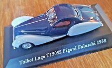TALBOT LAGO T150SS Figoni Falaschi 1938 - Ixo / Altaya - 1/43