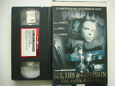 SEX LIES & OBSESSION 2001 VHS italiano
