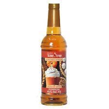 Skinny Syrups Pumpkin Praline Pie Syrup Sugar 0 Calorie 750ml Drink Mixer