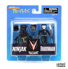 Comic Book Heroes Minimates Series 1 Valiant Ninjak & Shadowman