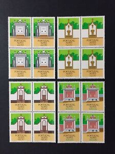 Portugal 1986 - Azores Fountains Block Four set MNH