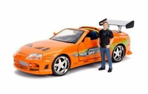 Jada 1/24, Toyota Supra Mk IV 1994 with Brian O'Conner Figure (Tv Film)