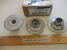 """3 NEW PCS FORD 2002/2010 EXPLORER """"NUT & WASHER"""" [CONTROL ARM] M18, W710796-S441"""