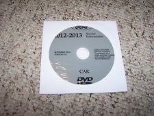 2013 Ford Taurus Shop Service Repair Manual DVD SE SEL Limited SHO AWD 3.5L