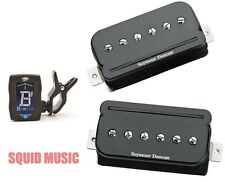 Seymour Duncan P-Rails SHPR-1s Black Pickup Set P 90 Sound In Humbucker ( TUNER)