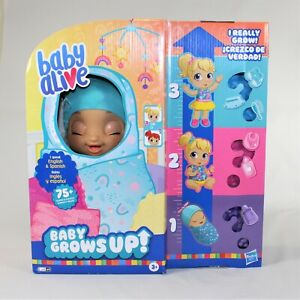 Baby Alive Doll Baby Grows Up (Happy) Growing Talking Baby Doll