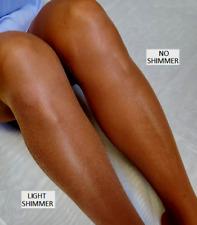 C Long=D Tamara Open Toe Shimmer Suntan Pantyhose Hooters Uniform lingerie