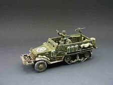 King & Country BBA05 Mortar Half Track, Never Opened, Mint in Box!