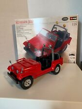Testers Renegade Jeep 1:24 Scale Metal Body Kit