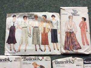Bundle Of Vintage Sewing Patterns - Style, Simplicity, Butterick, Vogue