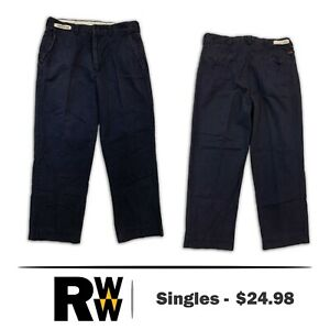 Bulwark Flame Resistant Clothes FR Pants ComfortTouch Industrial Work Uniform #A