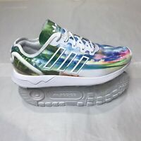 Sudor en voz alta pronunciación  Adidas Originals ZX Flux Niñas Entrenadores Blanco Talla 3. | eBay