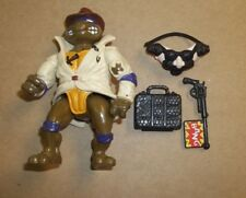 Playmates 1990 TMNT Don, the Undercover Turtle near Complete