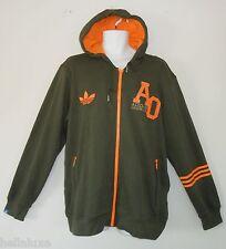 Adidas ORIGINAL FRENCH TERRY HOODY Track Top sweat Shirt Jacket firebird~Men 2XL