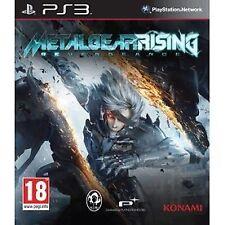Metal Gear Rising: Revengeance (Sony PlayStation 3) New