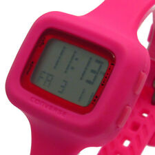 Converse Watch Digital Ladies Women's Understatement Pink Rubber strap VR025-615