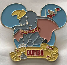 Dumbo Circus Elephant 2017 Bradford Exchange Magical Moments 1941 Pin W/ Card