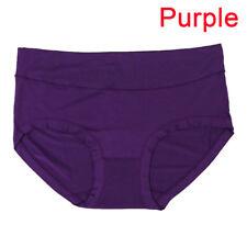 Cotton Underwear Briefs High Waist Women's Panties Non-trace Seamless M&R