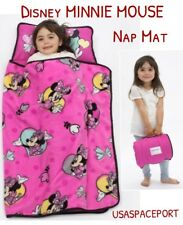 Disney MINNIE MOUSE Pink NAP MAT Toddler Daycare Pre-school K BLANKET+PILLOW Set