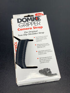 "Domke 1"" Gripper Strap no Swivel (Black) Camera Accessory Carry Strap NEW in BOX"