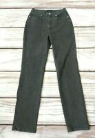 Trussardi High Waist Straight Leg Mom Jeans with Stretch Size 31 UK 10 12
