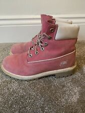 Womens Pink Timberland Boots/Shoes *UK Size 4*
