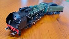 RIVAROSSI 1341  H0 1:87 - locomotiva a vapore SNCF Pacific 231 E 22 Calais verde