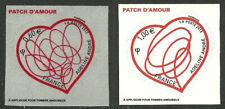 FRANCE 2012 - n° 648 et 649 autoadhésifs - issus de feuilles de 30 TP - neufs**