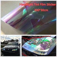 200×30cm Chameleon Neo Clear Color Headlight Taillight Fog Light Vinyl Tint Film