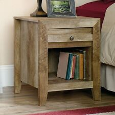 Sauder 418176 Dakota Pass Night Stand 1 With Drawer And Shelf, Craftsman Oak New