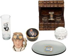 Frank Sinatra Office Desk Items featuring a book stack caddy CAVE A LIQUEUR 1800
