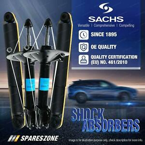 Front + Rear Sachs Shock Absorbers for Suzuki Ignis 1.5L AWD Hatchback 02-06