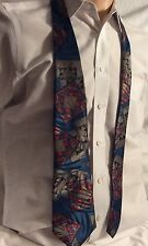 Genera Multicolored Geometric  Necktie