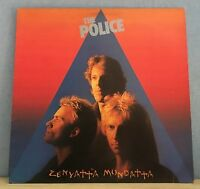 THE POLICE Zenyatta Mondatta 1980 UK vinyl  LP + INNER EXCELLENT CONDITION    I