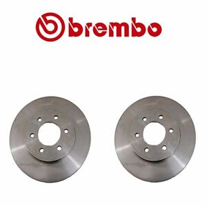 2 Front Brake Rotors Brembo 09B62010 For Ford Expedition Lincoln Navigator 02-06