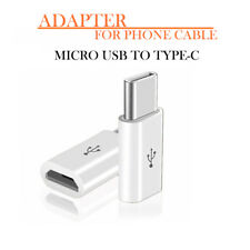 Micro USB to Type C Adapter Converter for Samsung S8 S9 HTC U11 Sony Xperia XZ1