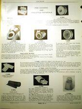 CRANE Pipe Covering Insulation Materials ASBESTOS Cement 85% Magnesia 1935