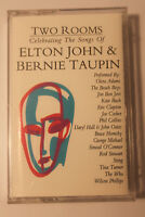 Elton John & Bernie Taupin - TWO ROOMS CASSETTE TAPE 1991