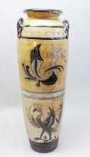 "Superb 27"" Roger Guerin Mid-Century Belgian Art Pottery Vase  c. 1940s  Pristine"
