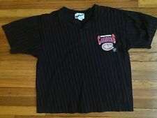 Rare Vintage Montreal Canadiens Pin Stripe Logo Shirt by Ravens 1994 - Large