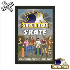 SUPER calore skate CARD GAME SKATEBOARD SKATER SUPER divertente e facile da riprodurre tutte le età