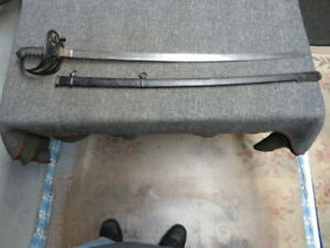 BRITISH ARMY PATTERN 1827 INFANTRY OFFICER SWORD W/ SCABBARD-ORIGINAL