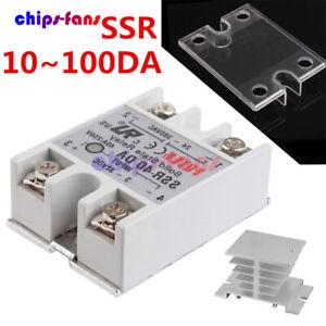 SSR-25DA SSR-40DA SSR-60DA 25A/40A/60A 250V Solid State Relay Alloy Heat Sink
