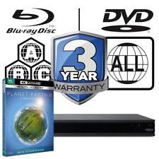 Sony UBP-X800 All Zone MultiRegion 4K Ultra HD Blu-ray Player & Planet Earth II