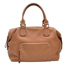 Longchamp Paris Handtasche Purse Leder Leather Made France Tan Beige Bag CHIC